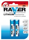 Obrázek výrobku: Baterie RAVER FR6 lithiová tužková