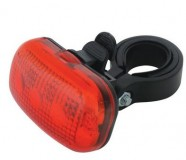 Obrázek výrobku: Svítilna na kolo zadní 3 LED diody 2xAAA