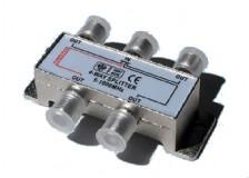 Obrázek výrobku: rozbočovač 4 x F konektor