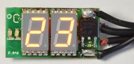 Obrázek výrobku: stavebnice Miniaturní digitální SMD teploměr