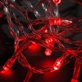Obrázek výrobku: Vánoční řetěz LED-80 červený